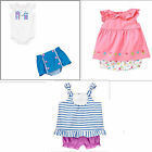 Gymboree Hippos and Bows 2 pc Bloomer Sets-Top,Bodysuit-0 3 6 12 18 24 NWT