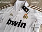 S L XL ADIDAS REAL MADRID FOOTBALL SHIRT soccer calcio jersey CLIMALITE Gold
