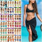 Coqueta mesh cover up Swimwear Beach Cover Up Sarong Pareo canga swimsuit wrap