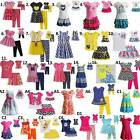 "Dollie and  Me  2T-14 & 18"" doll matching outfit Dress clothes american girl"