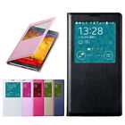 S-VIEW Window Smart FLIP PU LEATHER Case Cover fr SAMSUNG GALAXY NOTE3 III N9000