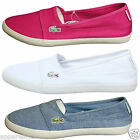 Lacoste Women's Marice SPW Loafers Casual Summer Beach Slip-On Shoes Flat Pumps