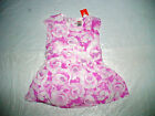 NWT GYMBOREE CENTER STAGE PURPLE WHITE FLORAL EASTER DRESS HOLIDAY