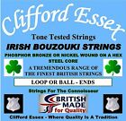 IRISH BOUZOUKI STRINGS - LIGHT GAUGE - 3 x SETS - 10% DISCOUNT. MADE IN THE UK.