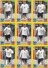 Match Attax England 2014 World Cup Trading Cards (GERMANY-Base) 117-127