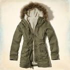 Hollister Jack Creek Twill Parka Original Retail $140.00