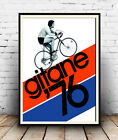 Gitane 76 , Vintage Cycling  poster reproduction