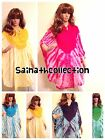 Kaftan free size loose hippy boho kimono sleeves bat wings tribal prints kaftan