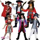 KIDS BOYS GIRLS PIRATE CAPTAIN BOOK DAY CHARACTER BUCCANEER FANCY DRESS COSTUME