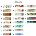 Washi Tape Decorative Adhesive Paper Masking Trim  - MULTI-COLOURED