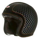 Bell Factory Custom 500 RSD Check It Black 3/4 Motorcycle Helmet