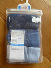 MARKS AND SPENCER 3 PACK BLUE BOYS TRUNKS UNDER PANTS BRIEFS COTTON RICH 18 2 3