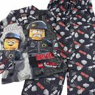 Lego Movie Bad Good Cop Black Fleece Boys Pajamas Size 6/7 8 10/12 PJs