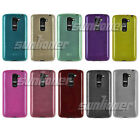 Brushed Silicone TPU Gel Rubber Skin Case Cover for LG G2 mini LTE, D620R
