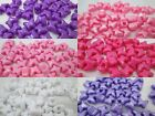 50 - 10 x 12 mm Butterfly Pony Beads -  Color Choice