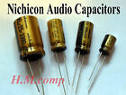 Nichicon Audio Grade Capacitor Electrolytic Radial Hifi Various Values / Voltage