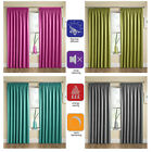 Blackout Lining Curtains Thermal Blockout Pencil Pleat Tape Top Pair of Curtains