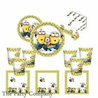 Despicable Me, Minion, Minions Boys Girls Children Kids Birthday Party Tableware