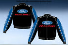 FORD RACING MOTORSPORT EMBROIDERED TWILL JACKET BRAND NEW WITH TAGS