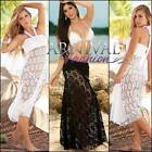NEW 2 in 1 CROCHET DRESS SKIRT 8 10 12 14 LACE DRESSES S M L XL european fashion