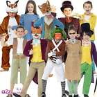 BOYS GIRLS STORYTIME BOOK DAY CHARACTER FOX FACTORY KIDS FANCY DRESS COSTUME NEW