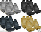 PREMIUM Full Set Seat Covers Airbag Safe 8mm Quality Double Stitched Fabric 2M