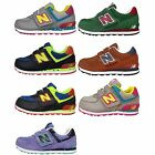 New Balance KG574 Velcro Kids Boys Girls Youth NB Running Casual Shoes Pick 1