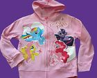 MY LITTLE PONY LITTLE GIRLS PINK LIGHT WEIGHT HOODIE JACKET 4 or 6X NEW