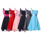 VINTAGE Sexy Mother of the Bride Bridesmaid Party Prom Evening Gowns Short Dress