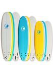 Odyssey 6ft 7ft 8ft Foam Surfboard Foamie Soft Surf Board Beginners Kids Adults