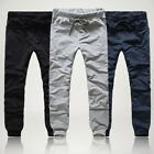 Men's Skinny Pants Training Joggers Sweat Pants Gym Sports Bottoms, New Trousers