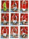 Match Attax 2014/15 Trading Cards (Arsenal-Base Set) All 17 Cards