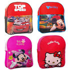 DISNEY Kinder Rucksack Kindergartentasche Cars Mickey Mouse Minnie Hello Kitty