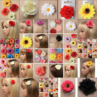 HAIR FLOWER DAISY SUNFLOWER HAIR CLIP SLIDE BRIDESMAID FESTIVAL FASCINATOR