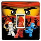LEGO NINJAGO light switch sticker cover / skin decal.