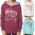 BILLABONG Girls GABBY Fleece Zip Hoodie Hoody Jumper (8 10 12 14) NEW