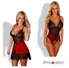 Douce Passion Body o. Negligee Dessous Babydoll offener Schritt Teddy Spitze