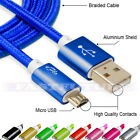10' Foot Micro USB 2.0 Cable For Android Phones Charging Sync Charger Cord lot
