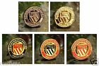 United Badge 'Manchester's World Famous Club' Crest Pin Badge Gift