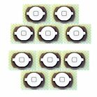 LOT NEW (WHITE) Home Button Keypad Part for iPod Touch 4th Gen 4G 8,16,32,64gbs