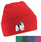 Polish Lowland Sheepdog Beanie Hat Embroidered by Dogmania