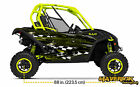 Can Am Maverick Street Race Manta Green  Decal Graphic Kit Wraps