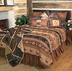 Rustic Cabin Lodge Bedding Set Deer Bear Autumn Trails Twin Queen King
