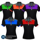 Ladies Charger Polo Shirt Contrast Size 8-24 Sports Club Casual New Work P500LS
