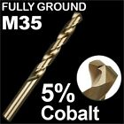 HSS DRILL BITS 7/64, 1/8, 9/64, 5/32, 1/4 COBALT M35 METAL STEEL TWIST IMPERIAL