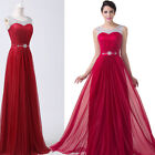 FREE P&P Evening Wedding Party Gown Masquerade Bridemaid Formal PROM Dress Long