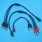 5.5 x 2.1mm DC Power Adapter Connector line shunt branch line for CCTV LED strip