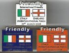 2015 Friendly - Italy v  England ~ Match Day Badge