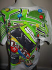 NASCAR KYLE BUSCH #18 M&M'S' CRISPY TOTAL PRINT T SHIRT LARGE - 2XL BRAND NEW
