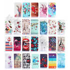 For Motorola New Various Designs Synthetic Leather Card Holder Wallet Case Cover